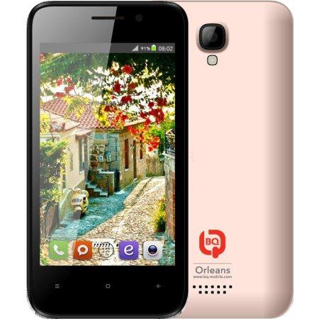 BQ 4009 Orleans Rose Gold 4Гб, Розовый, Dual SIM, 3G