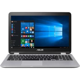 "Asus VivoBook Flip TP501UB-DN018T 15.6"", Intel Core i7, 2500МГц, 8Гб RAM, DVD нет, 1Тб, Темно-серый, Wi-Fi, Windows 10, Bluetooth"