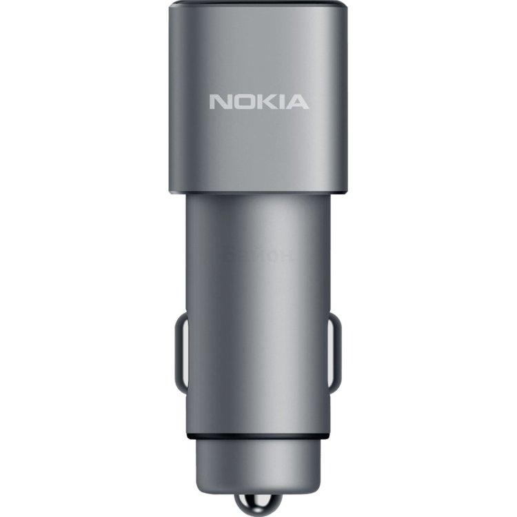 Автомобильное зарядное устройств Nokia Double USB 3.0