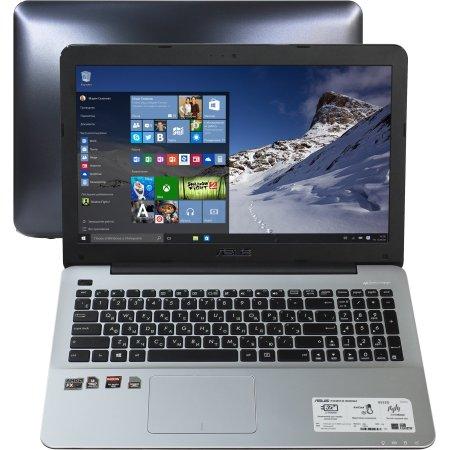 """Asus X555DG 15.6"""", 2100МГц, 8Гб RAM, 1Тб, Черный, Wi-Fi, Windows 10, Bluetooth"""