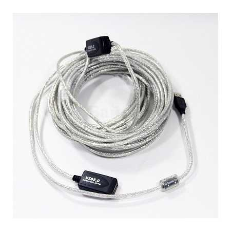 Адаптер USB2 AM-AF 10M VUS7049-10M VCOM