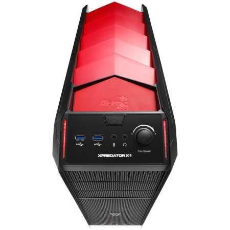 Aerocool Xpredator X1 Черный/красный