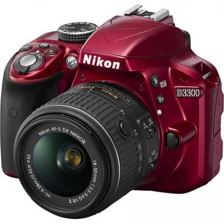 Nikon D3300 Красный, 24.2