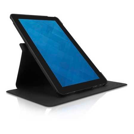 """Dell Latitude 11 Rotating Folio 10.8"""", Черный, Искусственная кожа"""