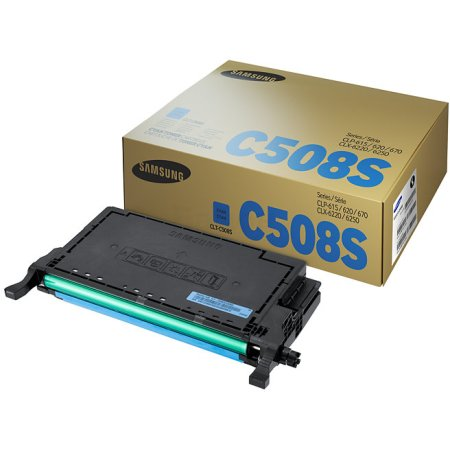 Samsung CLT-C508S Голубой, Картридж лазерный