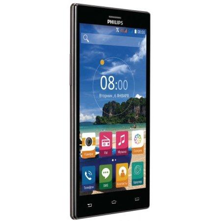 Philips S616 16Гб, Темно-серый, Dual SIM, 4G (LTE), 3G