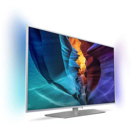 "Philips PFT6510/60 50"", Серебристый, 1920x1080, Wi-Fi, Вход HDMI"