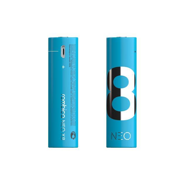Rombica NEO X8 Синий, 1620мАч 8885012523103