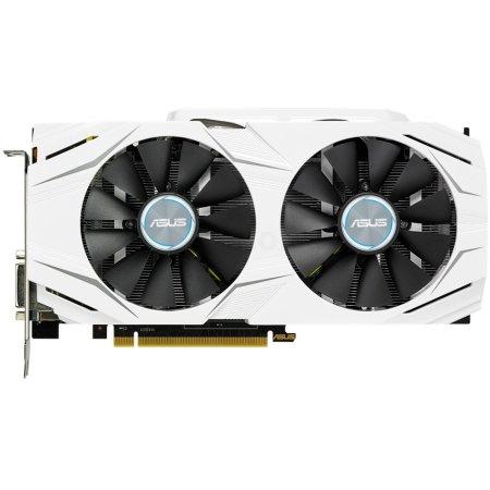 Asus NVIDIA GeForce GTX 1060 DUAL 6144Мб,GDDR5,1506MHz, DUAL-GTX1060-6G GTX 1060 DUAL - 6144Мб,GDDR5,1506MHz, DUAL-GTX1060-6G