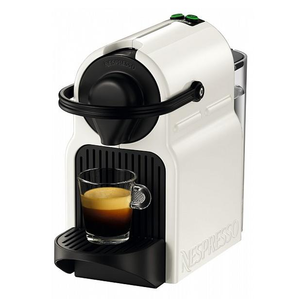 Krups Nespresso Inissia XN101110 Белый, капсулы, 0.8л, 1250Вт