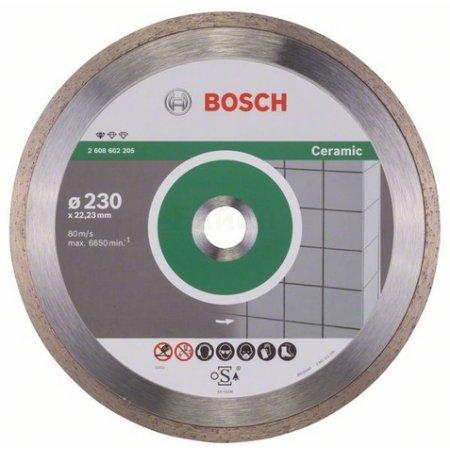 Алмазный диск по керамике Bosch Standard for Ceramic (2608602205) d=230мм d(посад.)=22.23мм (угловые шлифмашины)