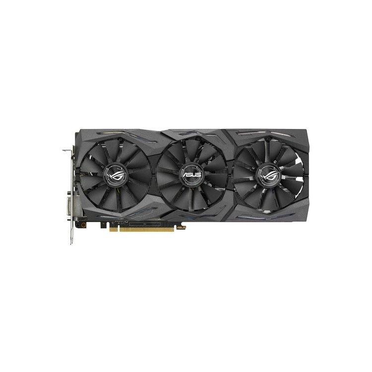 Asus NVIDIA GeForce GTX 1070 STRIX GAMING 8192Мб, GDDR5, 1531MHz