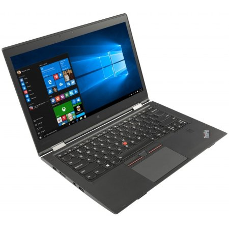 "Lenovo ThinkPad X1 Yoga 20FQ003YRT 14"", Intel Core i5, 2300МГц, 8Гб RAM, DVD нет, 256Гб, Черный, Wi-Fi, Windows 10 Pro, Bluetooth"