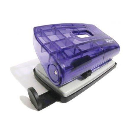 Дырокол Rapesco 810-P BC810PBB макс.:12лист. металл/пластик фиолетовый