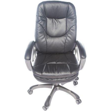 Кресло руководителя Бюрократ CH-868AXSN/Black черный искусственная кожа пластик темно-серый