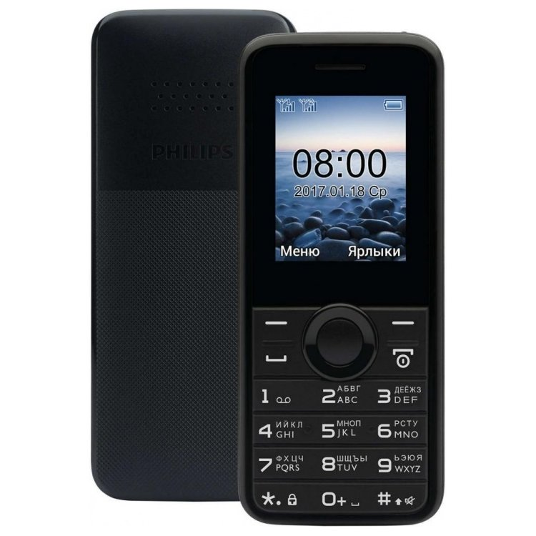 Philips E106, 0.032Гб, 2 SIM