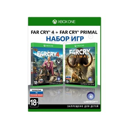 Комплект: Far Cry 4 + Far Cry Primal Xbox One, стандартное издание