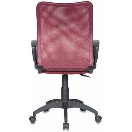 Кресло Бюрократ CH-599/DC/TW-13N спинка сетка темно-бордовый сиденье темно-бордовый TW-13N