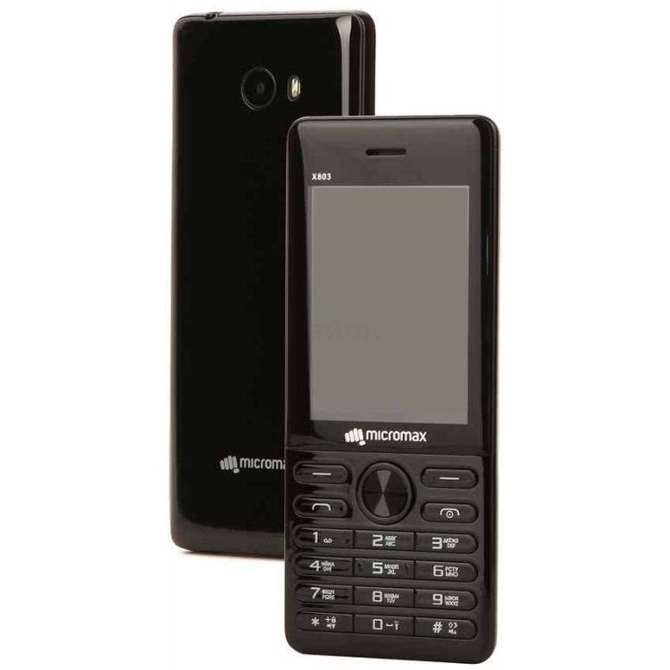 Micromax X803 Черный