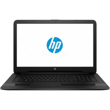 "HP 17-x004ur 17.3"", Intel Pentium, 1600МГц, 4Гб RAM, DVD-RW, 500Гб, Черный, Wi-Fi, DOS, Bluetooth"