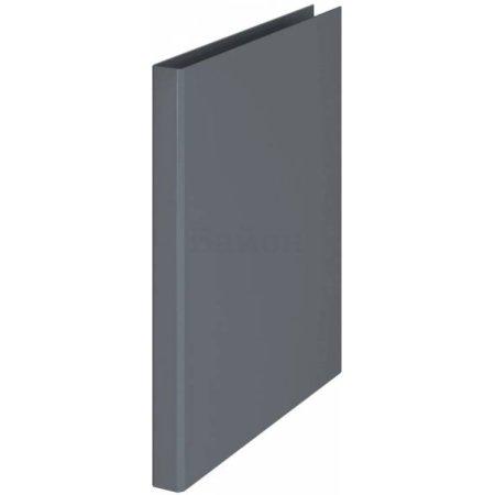 Папка на 4-х D-кольцах Durable 3170-10 A4 ПВХ кор.25мм серый