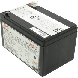 APC by Schneider Electric Battery replacement kit for BP650I, SUVS650I, BP650IPNP, BP650SI, SU620INET, SC620I