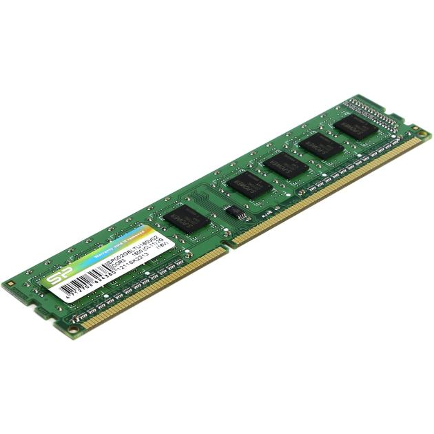 Silicon Power SP002GBLTU160V02 DDR3, 2Гб, PC-12800, 1600, DIMM