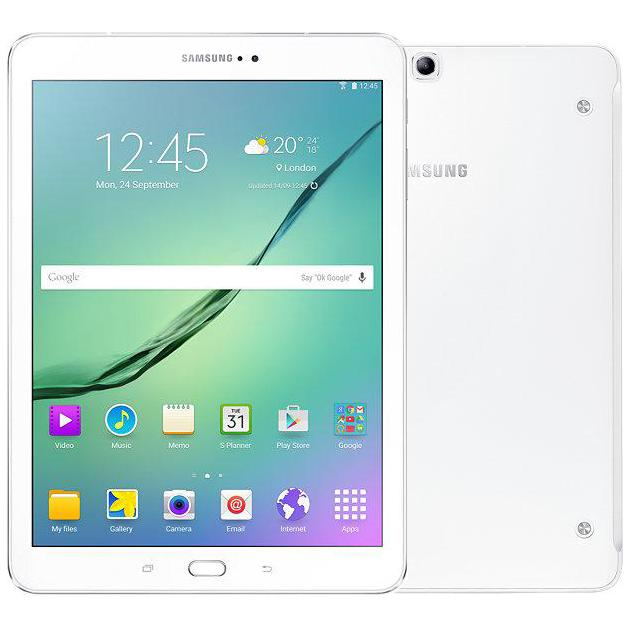 Samsung Galaxy Tab S2 SM-T813 Wi-Fi, Белый, 32Гб, Android 6.0 samsung galaxy s4 2 ядра dual 5 дюймов wi fi duos android 4 0 2 sim