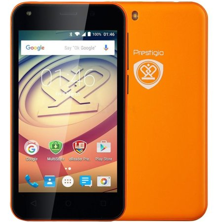Prestigio Wize L3 3403 DUO ORANGE 4Гб, Оранжевый, Dual SIM, 3G