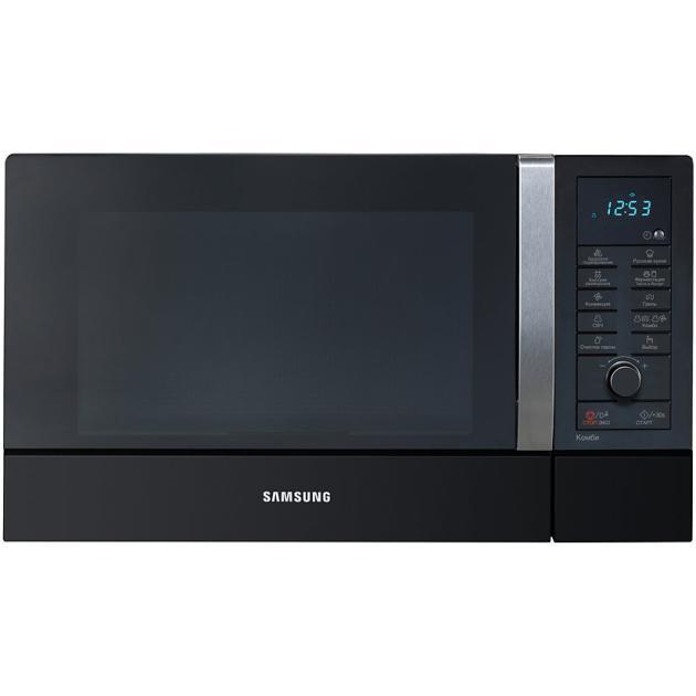 Samsung CE107MNR-B Черный, Гриль, Конвекция, 900Вт, 28л