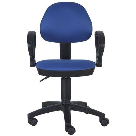 Кресло Бюрократ CH-318AXN/15-10 темно-синий 15-10