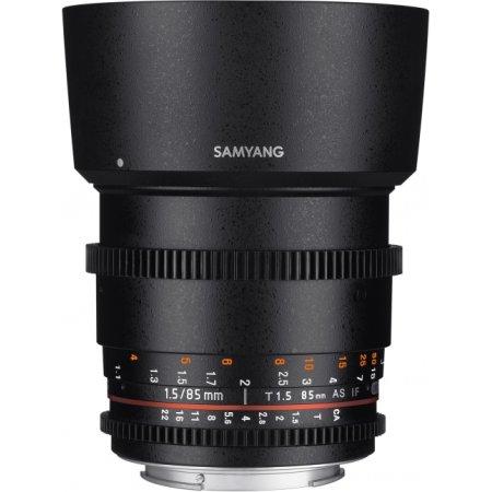 Samyang MF 85mm T1.5 AS IF UMC VDSLR II Sony A