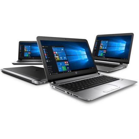 "HP ProBook 450 G3 W4P23EA 15.6"", Intel Core i3, 2.3МГц, 4Гб RAM, DVD-RW, 500Гб, Черный, Windows 7, Windows 10, Wi-Fi, Bluetooth"