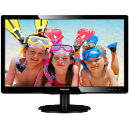 """Philips 226V4LSB/00 21.5"""", Черный, DVI, Full HD"""