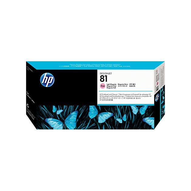 HP 81 Светло-пурпурный, Печатающая головка, Стандартный, нет