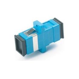 Проходной адаптер SC-SC, для одномодового и многомодового кабеля (SM/MM), с полировкой UPC, одинарного исполнения (Simplex)