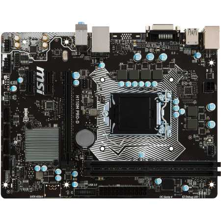 MSI H110M PRO-D mATX