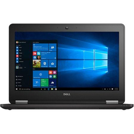 "Dell Latitude E7270 12.5"", Intel Core i5, 2300МГц, 8Гб RAM, DVD нет, 512Гб, Windows 10 Pro, Windows 7, Черный, Wi-Fi, Bluetooth"