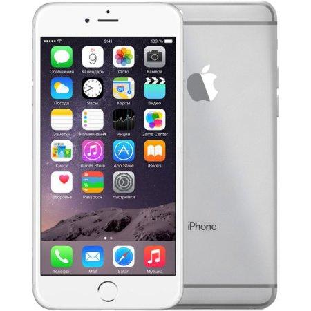 Apple iPhone 6 Plus 16 Гб, Серебристый