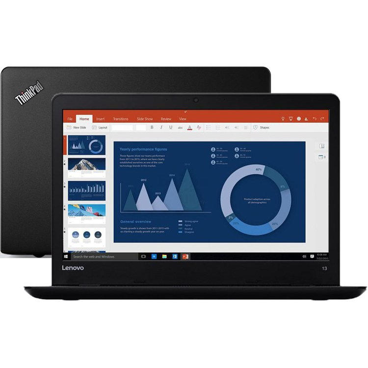 "Lenovo ThinkPad 13 13.3"", Intel Core i3, 2300МГц, 4Гб RAM, DVD нет, 256Гб, Wi-Fi, Windows 10 Pro, Bluetooth"