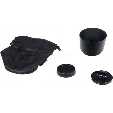 Panasonic Lumix G Vario 45-200mm f/4-5.6 Mega O.I.S. Телеобъектив, Micro 4/3, Совместимость с полнокадровыми фотоаппаратами