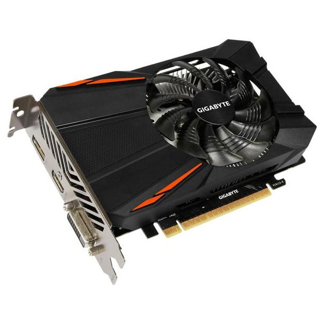 Gigabyte GeForce GTX 1050 OC 2G PCI-E 16x 3.0, 2048Мб, GDDR5