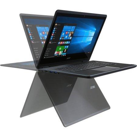 "Acer Aspire R5-471T-52ES 14"", Intel Core i5, 2300МГц, 8Гб RAM, DVD нет, 256Гб, Черный, Wi-Fi, Windows 10 Домашняя, Bluetooth"