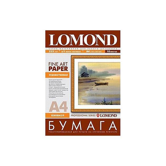 Lomond 908431 Холст, A4, 10, матовая, холст Холст, A4, 10, матовая, холст