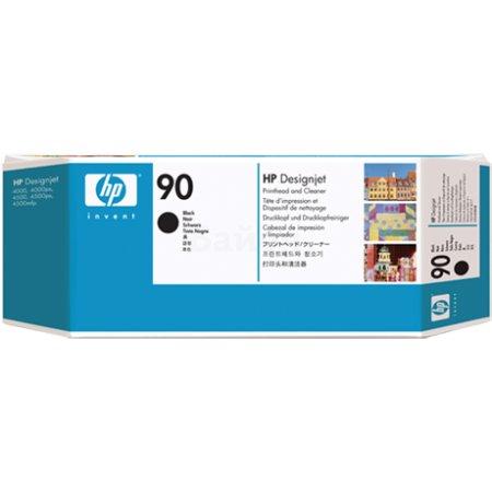 HP 90 Черный, Печатающая головка, Стандартный, нет