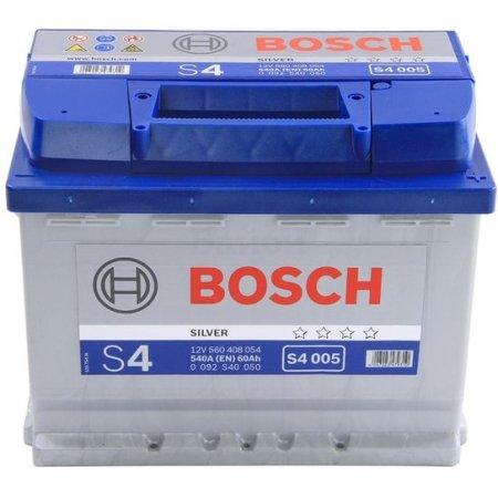 Аккумулятор BOSCH S4 005 Silver 560 408 054, 60e Ач