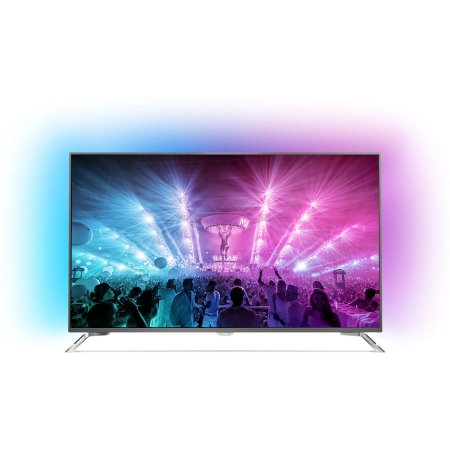 "Philips 55PUS7101/60 55"", Стальной, 3840x2160, Wi-Fi, Вход HDMI"