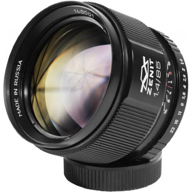Зенитар-C 1.4/85 для Canon EF