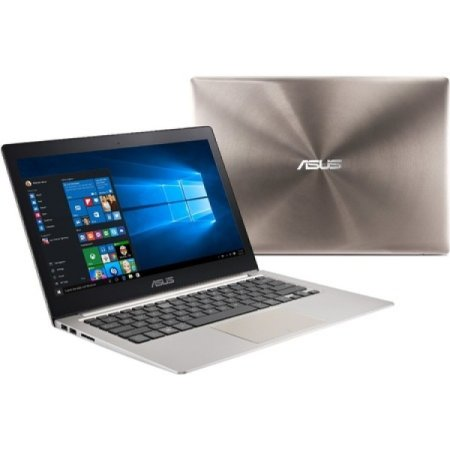 "Asus Zenbook UX303UB-R4074R 13.3"", Intel Core i5, 2300МГц, 8Гб RAM, DVD нет, 1Тб, Коричневый, Wi-Fi, Windows 10 Pro, Bluetooth"