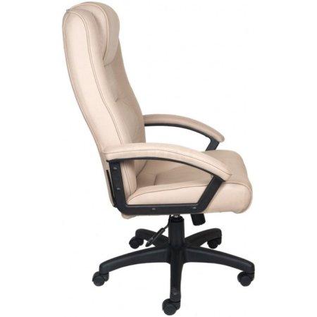 Кресло руководителя Бюрократ T-9906AXSN/F10 бежевый F10 искусственный нубук